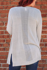 L Love Open Front Cardigan