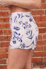 Paper Crane Floral Print Shorts