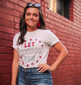 Friday+Saturday Let Freedom Ring T-Shirt