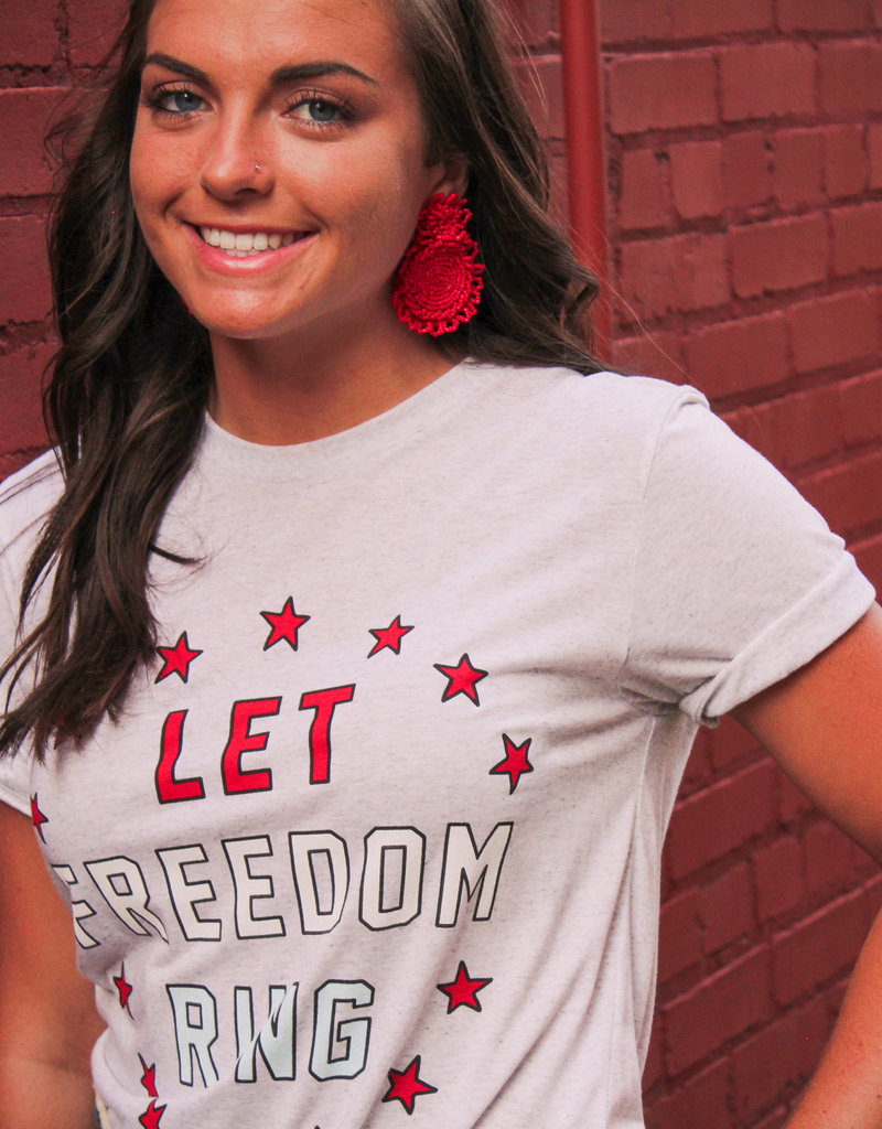 Friday+Saturday Let Freedom Ring T-Shirt