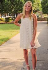 &merci Textured Pom Cami Dress