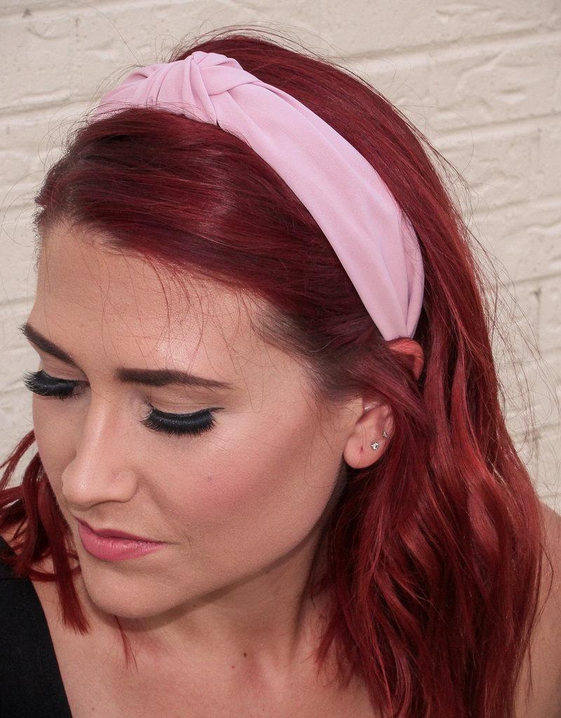 Girly Solid Knot Headband