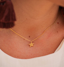 H&D Accessories Dainty Star Necklace
