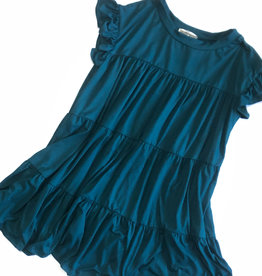 entro Short Sleeve Babydoll T-Shirt Dress