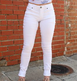 April Jeans White Skinny Jeans