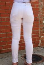April Jeans White Skinny Jeans