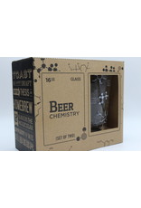 The Science of Beer Chemistry Glass Set