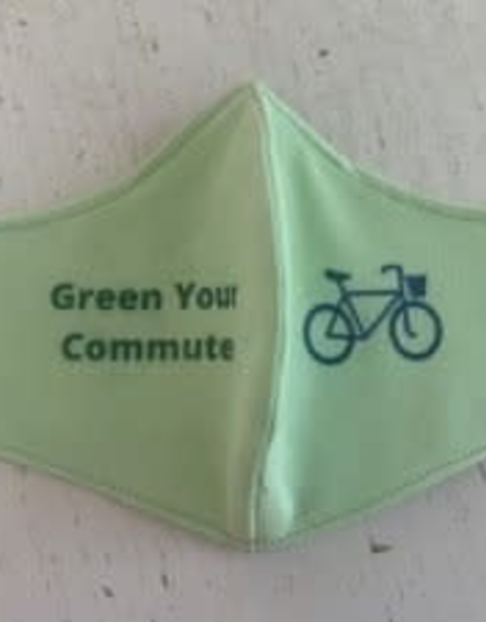 Green your commute mask