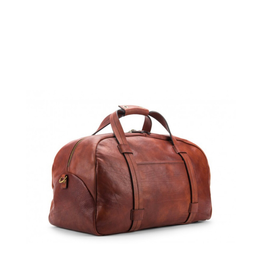Bosca Leather Weekend Duffel