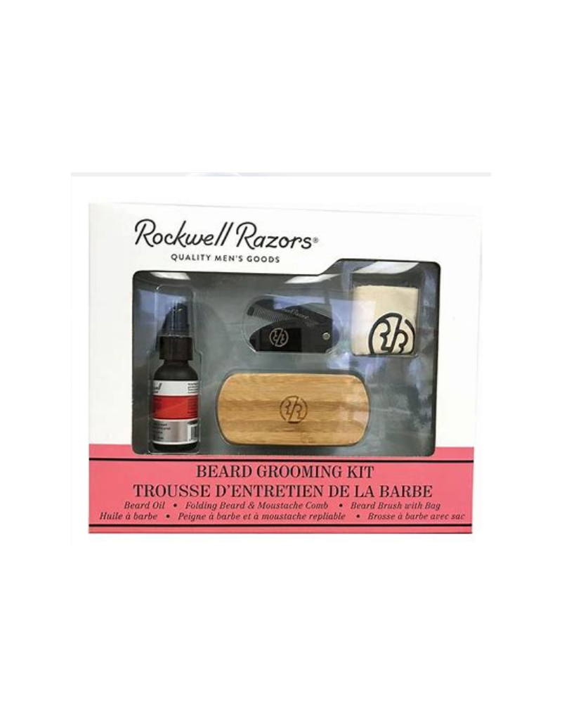 Rockwell Beard Grooming Kit