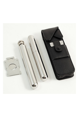 Cigar Holder w/cutter and Flask