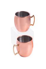 Copper Tankard Set of 2