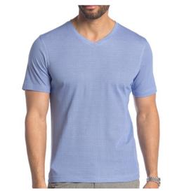 Raffi Dot Print V Neck T Shirt