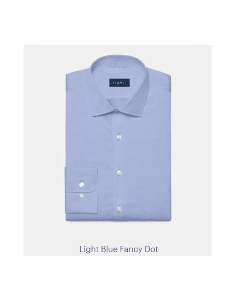 Stantt 1A Light Blue Fancy Dot