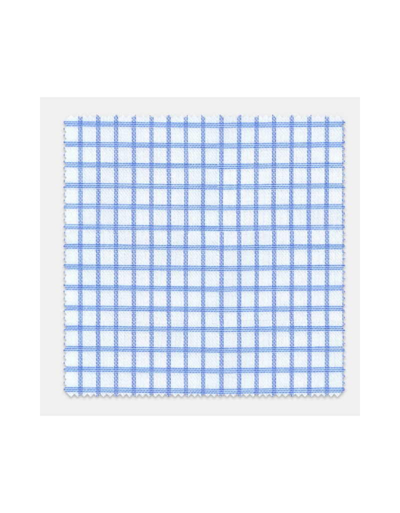 Stantt 2A Blue Grid Check