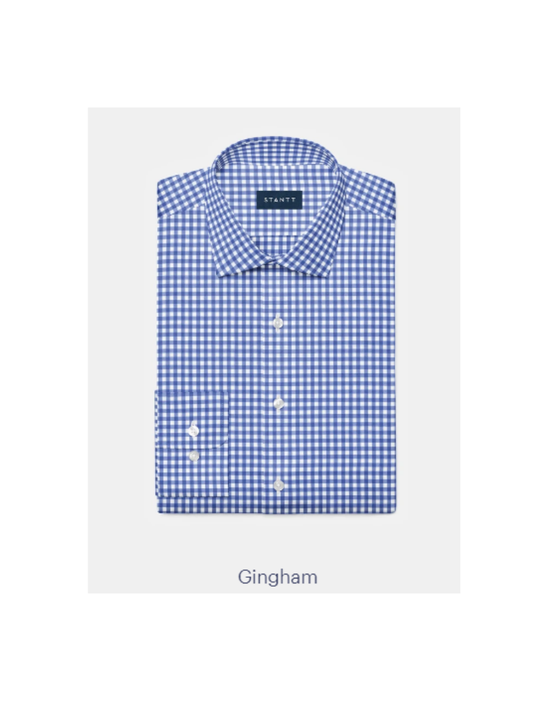 Stantt 1A Blue Gingham