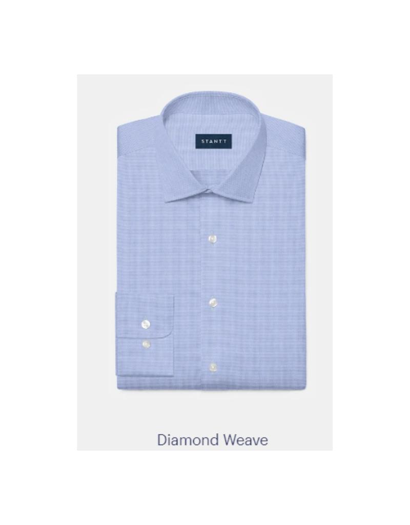Stantt 3A Sky Blue Diamond Weave