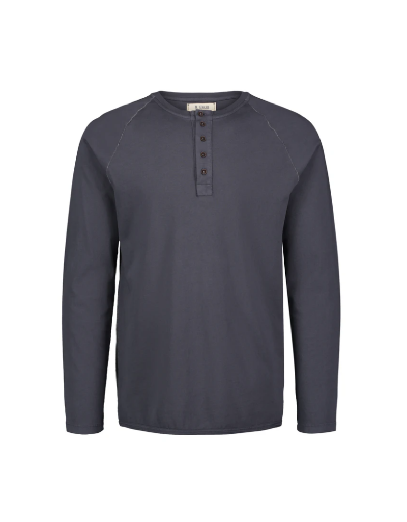 M Singer - Magic Wash Henley L/S