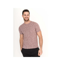 Raffi Cotton Blend Slub T Shirt