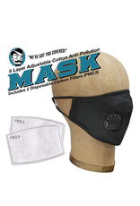 Anti-Pollution Mask - Black