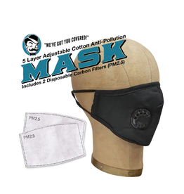 Anti-Pollution Mask Black