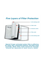 Anti-Pollution Filters (Set 4)
