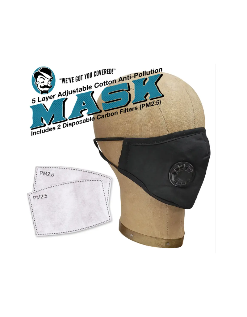 Anti-Pollution Mask - Light Grey