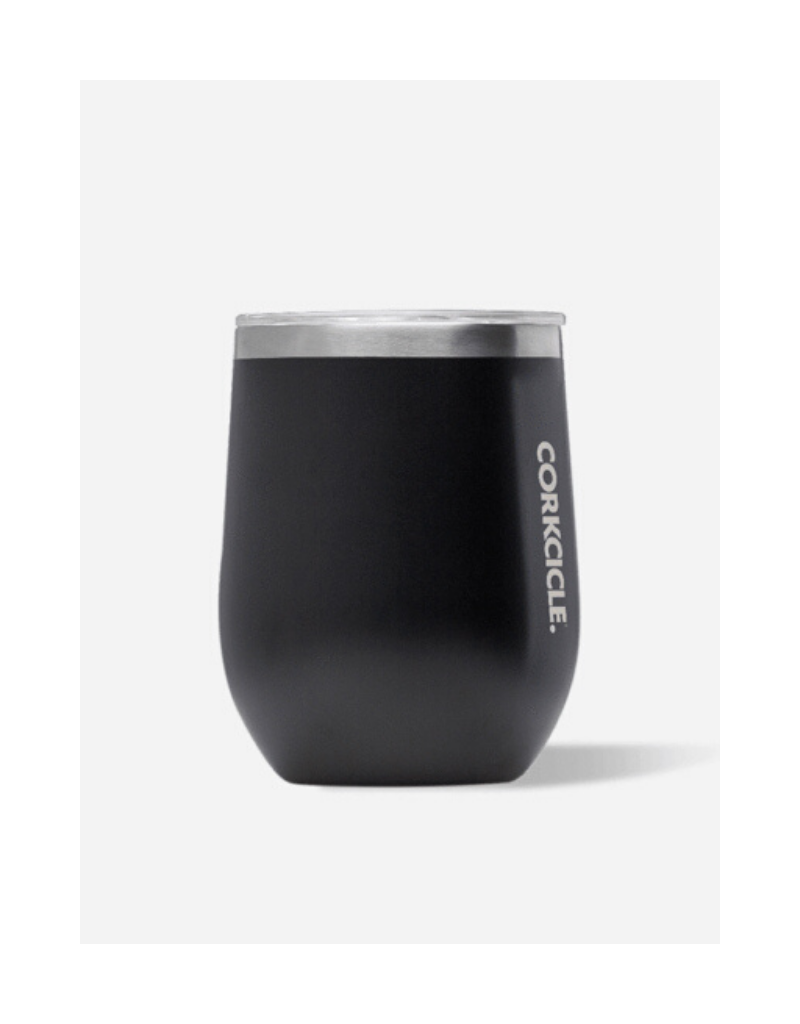 Corkcicle-Stemless 12oz Matte Black