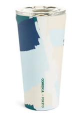 Corkcicle - 16oz Tumbler White Brush Stroke