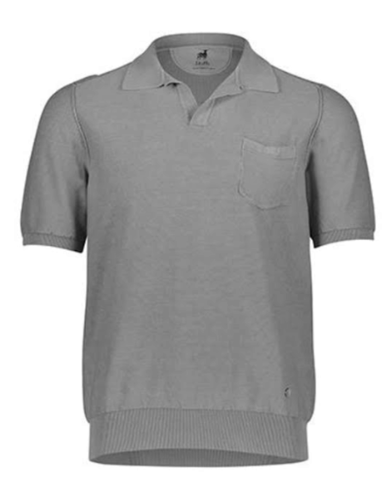 Raffi Raffi Ribbed Johnny Collar