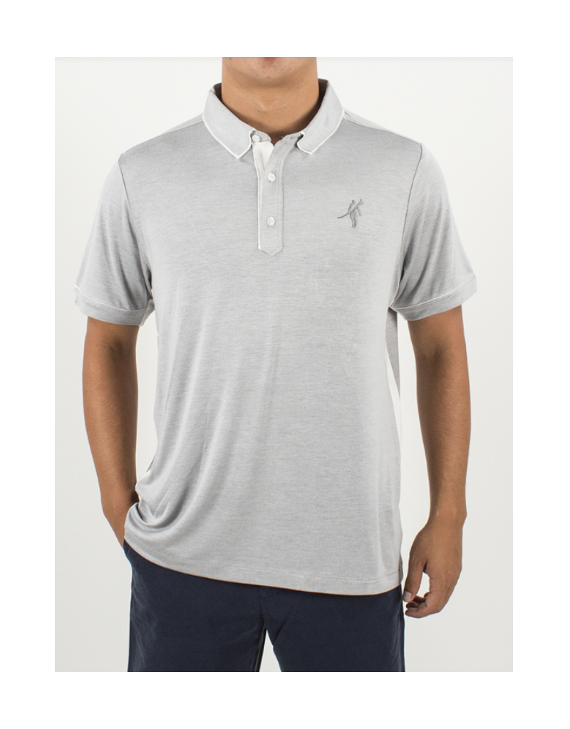James Polo Lt Grey Heather