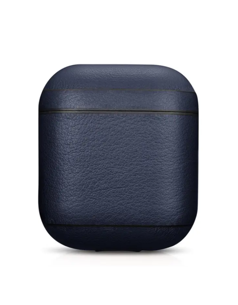 Cairpods Premium Leather AirPods Case - Blue