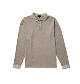 RP Relaxed Polo LS - Warm Grey