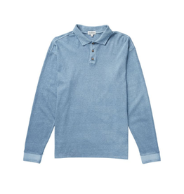 RP Relaxed Polo LS - Blue