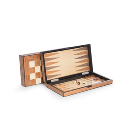 Backgammon/Chess Set - Wood Lacquered