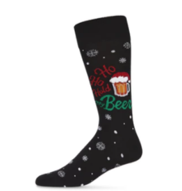 Hold My Holiday Beer Socks