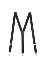 MB Suspenders - Black Solid