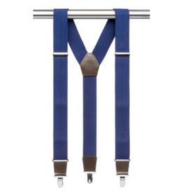 MB Suspenders - Blue Solid