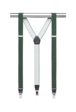 MB Suspenders - Dark Green Solid
