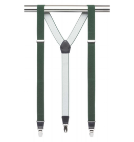 MB Suspenders - Dark Green Solid