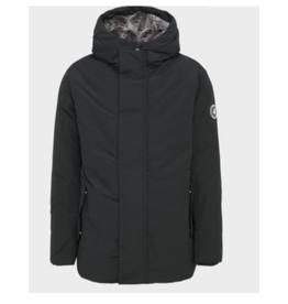 Winter Artic Hooded Fur Lined Parka - Black