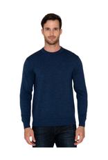 Raffi Merino Wool Crew - Ocean