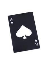 Mad Man Ace of Spades Bottle Opener- Black