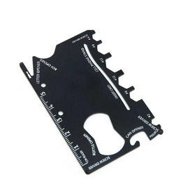 16 Function Credit Card Size Wallet Tool