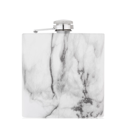 TRUE Marble Stainless Steel Flask 6oz
