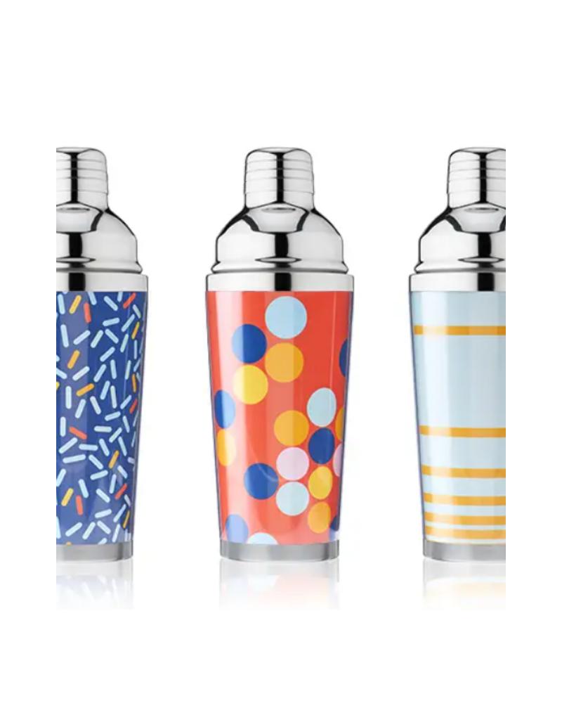 TRUE Cocktail Shaker - Blue Confetti