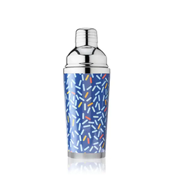 TRUE 16oz Cocktail Shaker - Blue Confetti