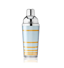 TRUE 16oz Cocktail Shaker - Blue Stripe