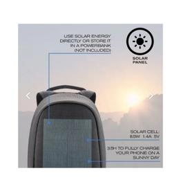 XD Design - Bobby Tech Solar Powered Backpack