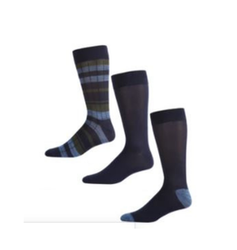 Hunters Navy Stripe Solid 3 pack